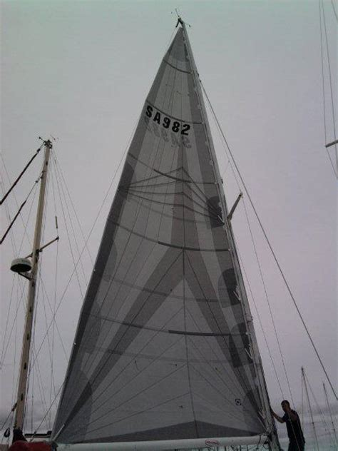why polyester is used for making sails for boats racing mainsails sail making adelaide custom sails