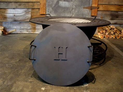 Firepit Cover Metal Pit Covers Create Your Own Personalized Pit With Your Family S Name Your