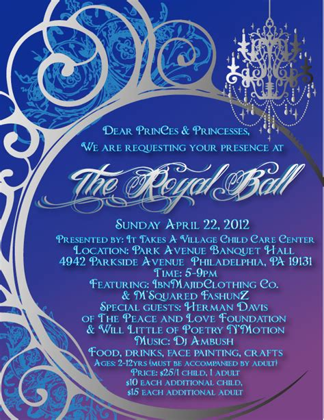 Royal Invitation Letter Exle The Royal Tickets Sun Apr 22 2012 At 5 00 Pm Eventbrite
