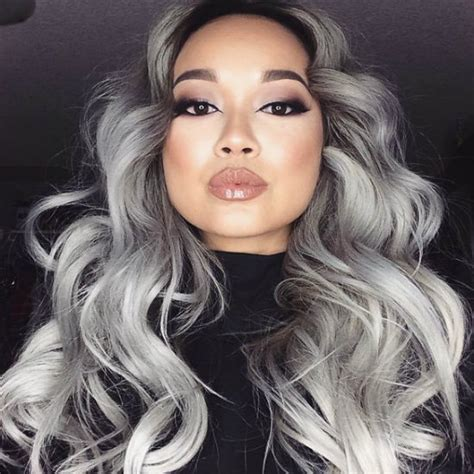 how to update gray hair with color for women over 70 wavy curly granny hair color update 81 605 latest hair