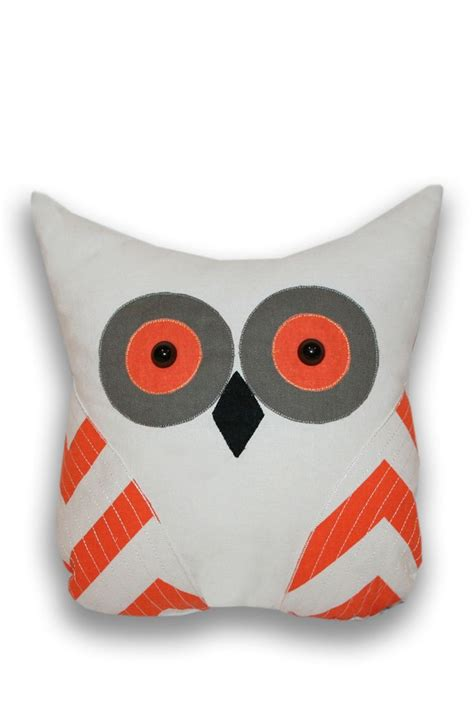 tootsie applique owl shaped pillow products i