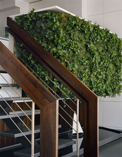 Dining Quot Pod Quot With Vertical Garden Wall Urban Gardens Interior Wall Garden