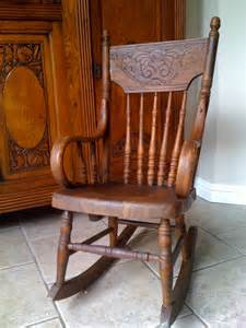 Pressback Chairs Adorable Antique Child S Rocking Chair