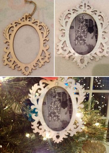 diy picture frame ornaments 18 best images about rhinestone diychristmas ornaments on spoon ornaments diy