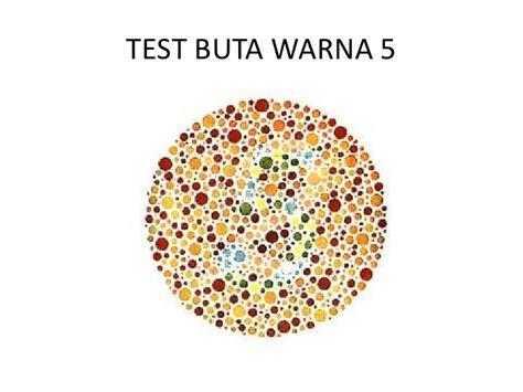 Alat Test Buta Warna tes buta warna 1