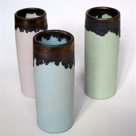 Pastel Vase by Pastel Stoneware Cylinder Vase By Menear Ceramics