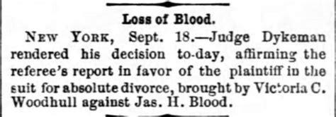 Washington Dc Divorce Records Woodhull S Secret Marriage Revealed