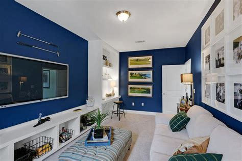 blue walls in living room blue walls in living room design decoration