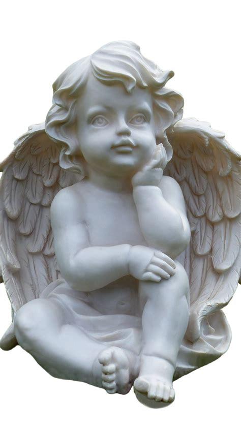 cherub statue wallpaper mobile desktop background