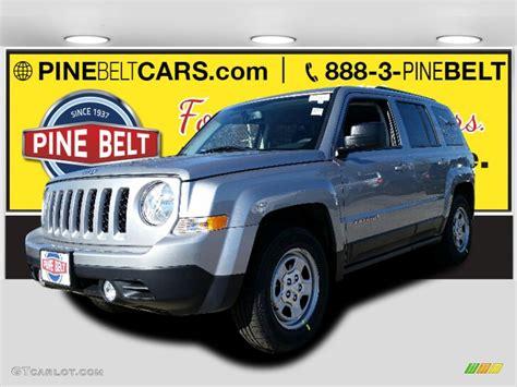 silver jeep patriot 2016 2016 billet silver metallic jeep patriot sport 108728444