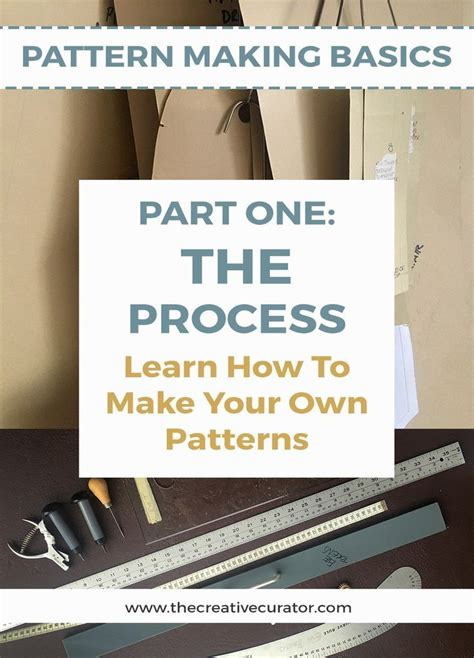 pattern making process pattern making the process of how to make your own