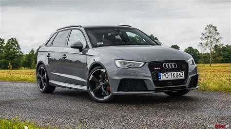 Test Audi Rs3 by Test Audi Rs3 Sportback 2 5 Tfsi Dailydriver Pl