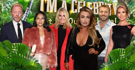 celebrity jungle 2017 whos going in who s tipped for the jungle in i m a celeb 2017 metro news