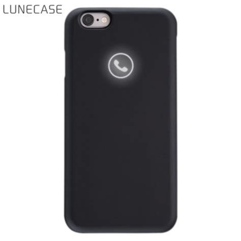 notification light iphone 6 lunecase icon light up iphone 6s 6 notification case