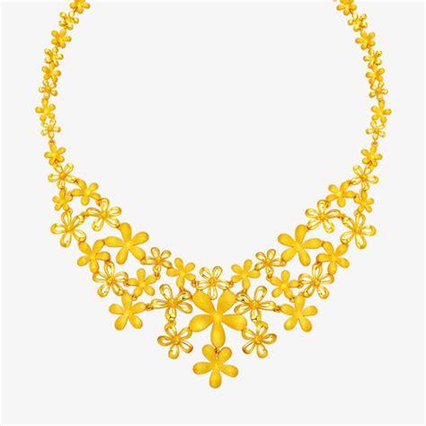 flower design gold necklace gold necklace gold flower necklace wedding accessories