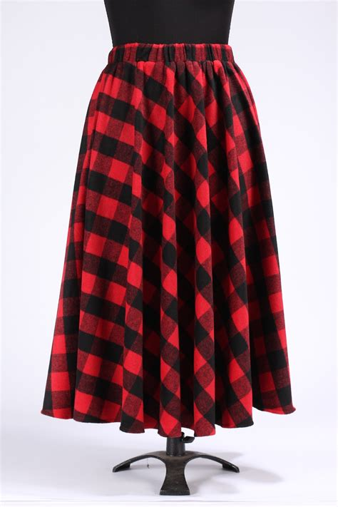 7 Favorite Winter Skirts by Winter Black Plaid Skirts Womens Autumn Plus Size 5xl