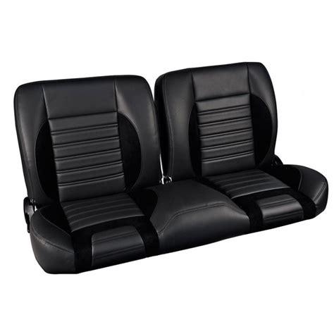 universal bench seat tmi truck pro series universal sport r split back bench