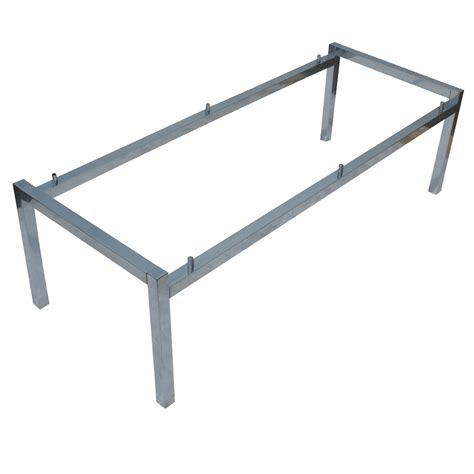 bench base 51 quot rectangular aluminum coffee table base ebay