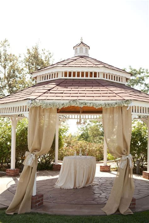 90 best images about Gazebo Weddings on Pinterest   Flower