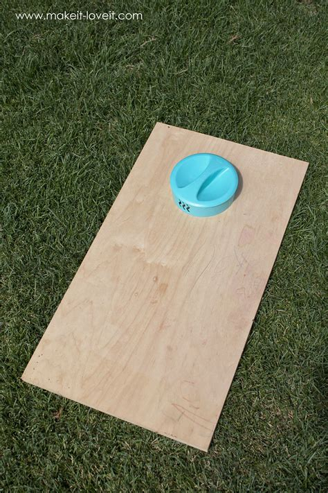 how to build a bean bag diy bean bag toss for the whole family make it