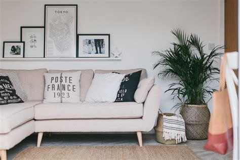 scandi boho living room makeover reveal    build property