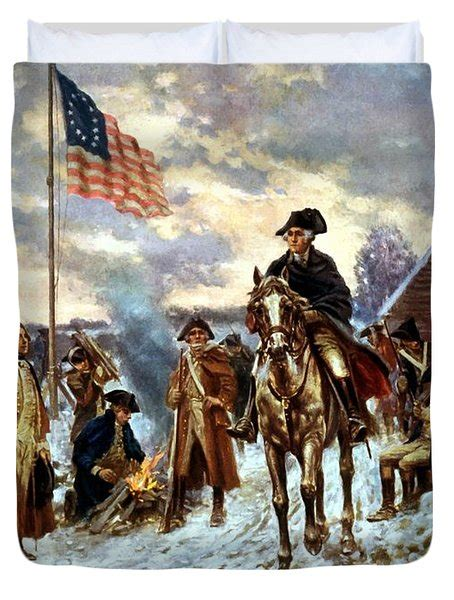 Washington At Valley Forge washington at valley forge painting by war is hell store