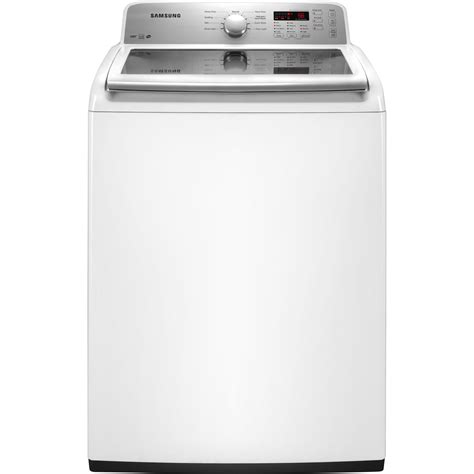 Samsung Washer Samsung 4 2 Cu Ft High Efficiency Top Load Washer White Shop Your Way Shopping