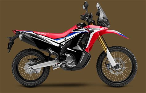 Papan No Crf250 new 2017 honda crf250l rally in no longer a concept adventure overland motorcycle travel