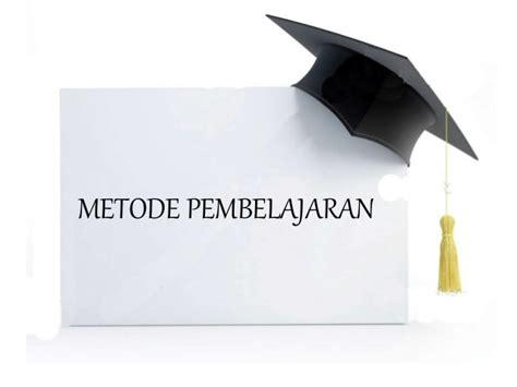 metode pembelajaran tutorial adalah metode dan teknik pembelajaran bahasa indonesia