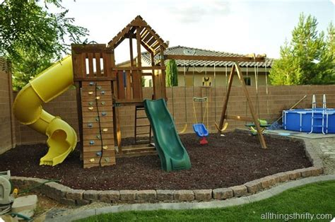 Playground Ideas For Backyard 25 Best Ideas About Backyard Playground On Backyard Playground Sets Playground