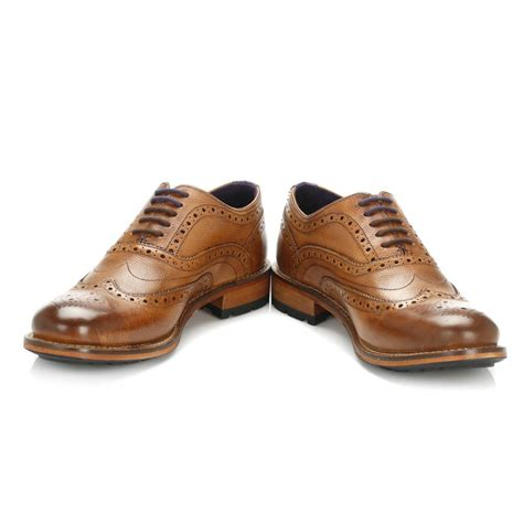 oxford shoes or brogues ted baker mens oxford shoes black brown guri 8 brogues