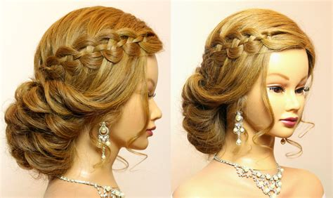 Bridal Updo Hairstyles Tutorials by Wedding Prom Hairstyles For Hair Tutorial Bridal