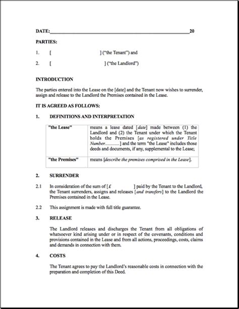 Lease Deed Termination Letter Format Rental Agreement Letter Jvwithmenow
