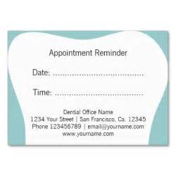 dentist appointment card template 366 best images about appointment reminder business cards