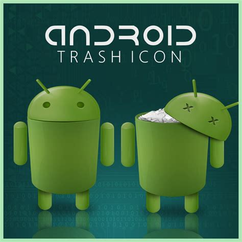 android empty trash android trash icon by d1m22 on deviantart
