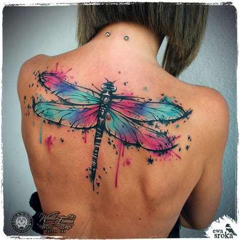 watercolor tattoo dragonfly 25 best ideas about watercolor dragonfly on