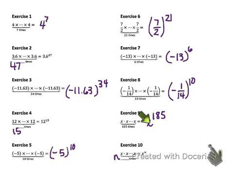 Tomo 1 I Was An Eight Grade 8th grade math module 1 lesson 1 v 3
