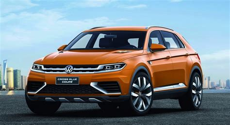 volkswagen coupe volkswagen crossblue coupe concept germany s evoque