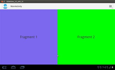 android fragment sle program android fragment static fragment creation in android dynamic fragment
