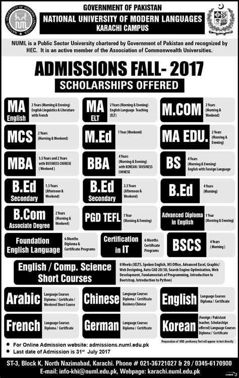 Mba In Language by Mba Finance Unite Pakistan The Youth Portal