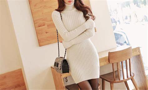 Sweater Paul Story Baju Wanita sweater musim dingin offwhite sweater r35028offwhite coat korea