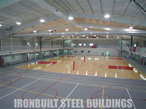 House Plans With Big Windows by Recreational Steel Buildings Metal Gymnasiums Sports