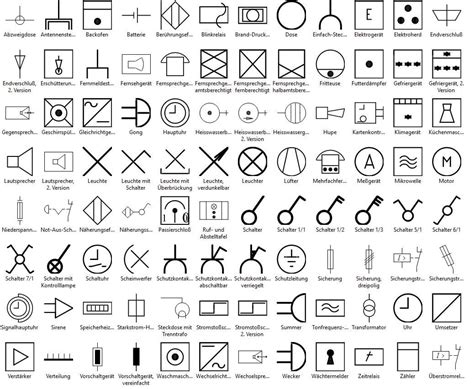 electrical wiring diagram symbols low voltage drawing