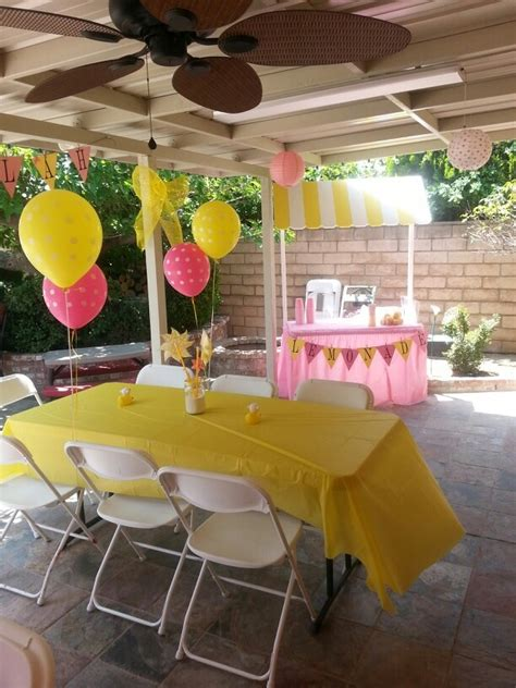 Lemonade For Baby Shower by 17 Best Images About Sams Babyshower On Pink