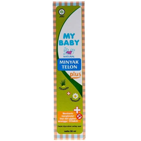 Minyak Telon Plus My Baby 90 Ml my baby telon plus 90ml isi 3 jabodetabek only elevenia
