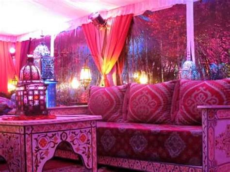 pink themed events tent transformation into a beautiful pink ish moroccan