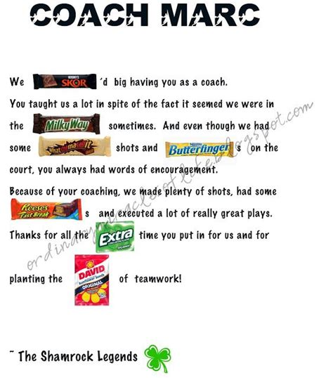 thank you letter to parents from soccer coach best 25 bar poems ideas on