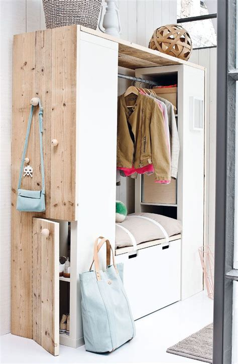 Hallway Closet Organizer by 228 Best Images About Expedit Kallax Hacks On