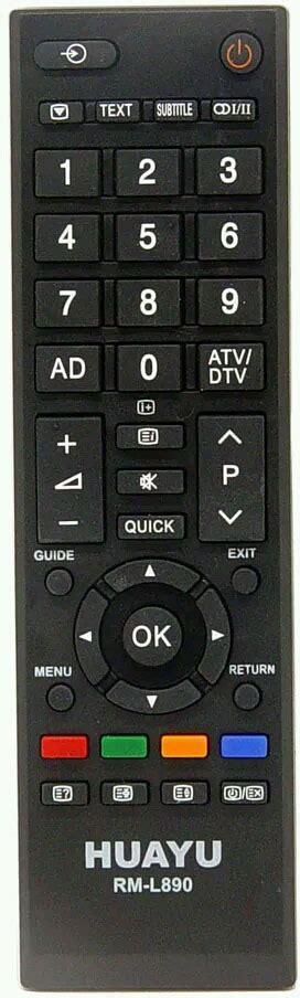 toshiba tv remote control rm