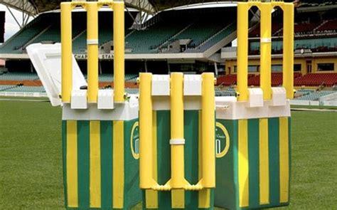 cricket cooler esky doubles up as a beach cricket set